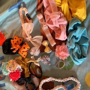 Various baby headbands